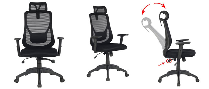 VIVA Office Ergonomic High Back Mesh Chair