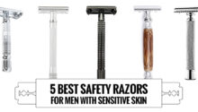 five best safety razors for men sensitive skin 2018 selectedreviews