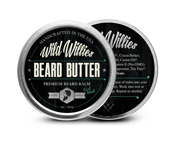 Wild Willies Beard Butter Balm - Cool Mint